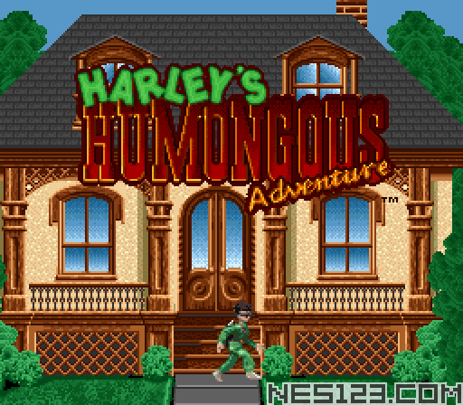 Harley's Humongous Adventure