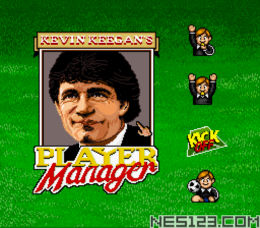 Kevin Keegan's Player Manager