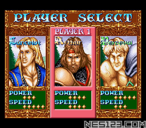 Knights of the Round SNES Roms Games online