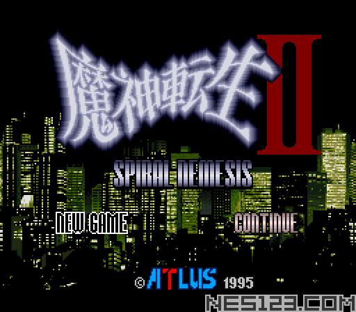 Majin Tensei II - Spiral Nemesis