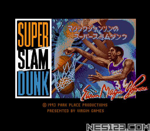 Magic Johnson's Super Slam Dunk