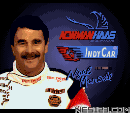 Newman-Hass Indy Car Featuring Nigel Mansell