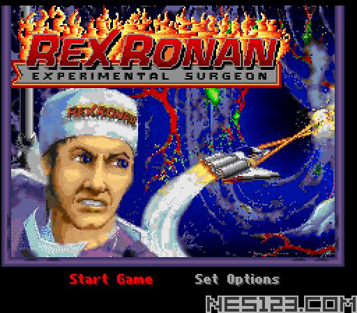 Rex Ronan - Experimental Surgeon