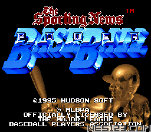 Sporting News Power Baseball, The