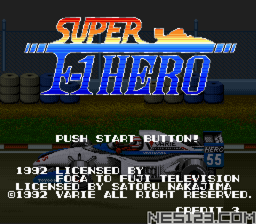 Super F1 Hero