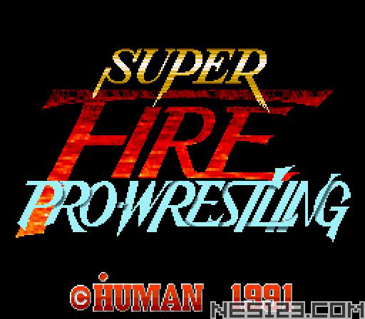 Super Fire Pro Wrestling
