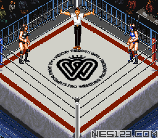 Super Fire Pro Wrestling - Queen's Special