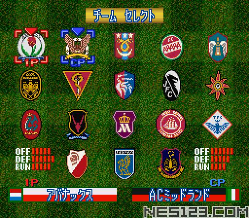 Super Formation Soccer 96 - World Club Edition