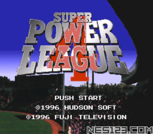 Super Power League 4