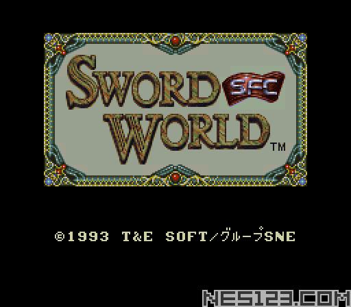Sword World SFC