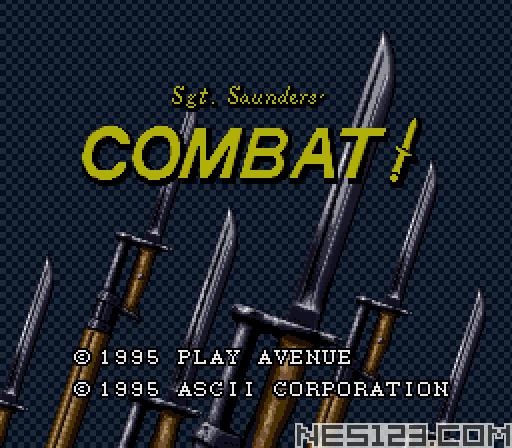 Sgt. Saunders' Combat!