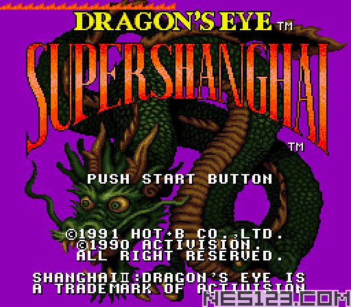 Shanghai II - Dragon's Eye