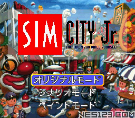 Sim City Jr.