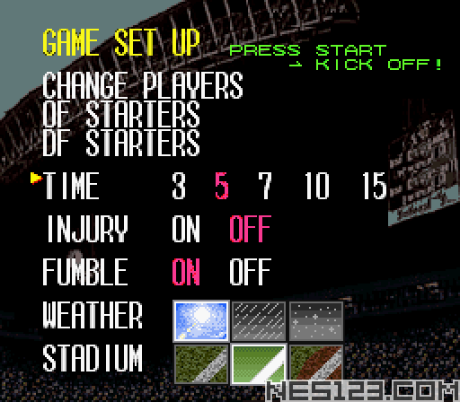 Tecmo Super Bowl III - Final Edition