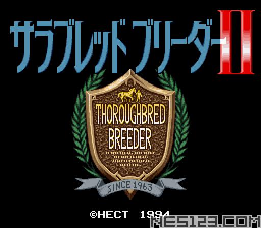 Thoroughbred Breeder II