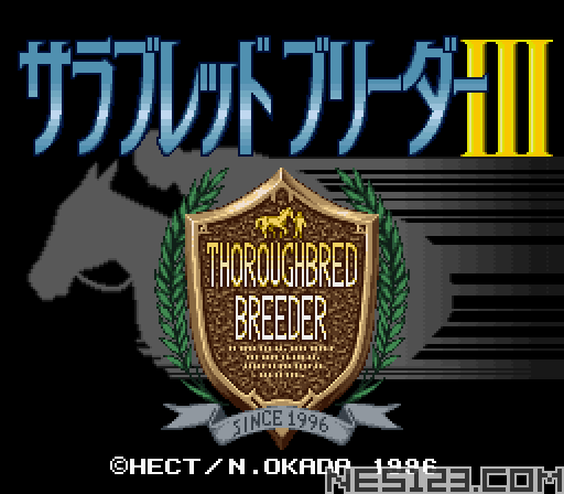 Thoroughbred Breeder III
