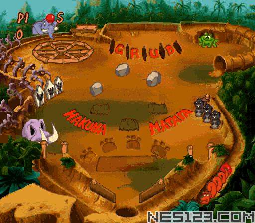 Timon & Pumbaa's Jungle Games