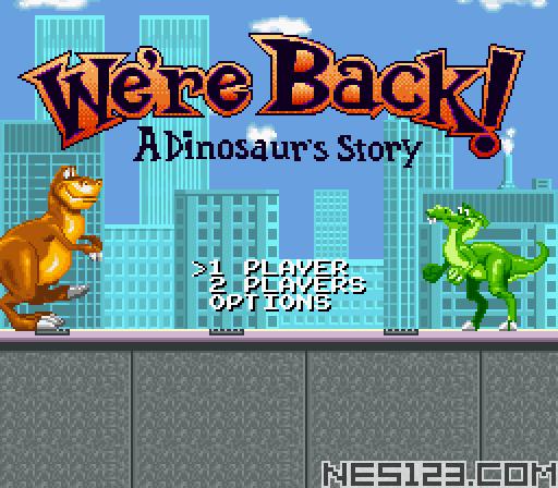 We're Back! - A Dinosaur's Story
