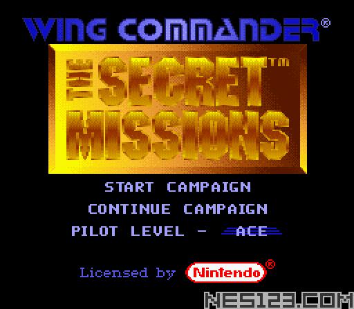 Wing Commander - The Secret Missions