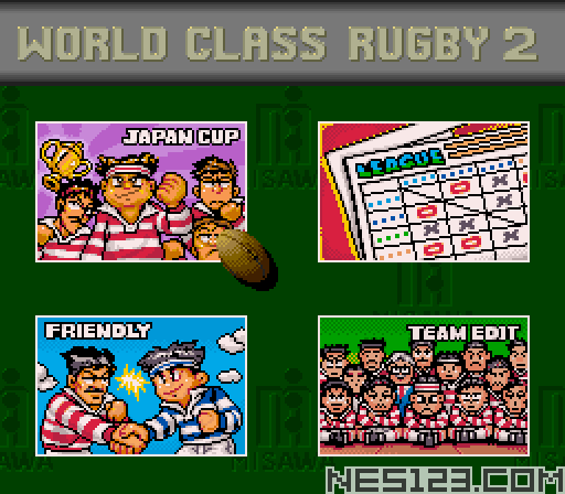World Class Rugby 2 - Kokunai Gekitou Hen '93