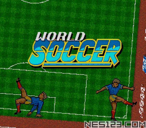 World Soccer 94 - Road to Glory